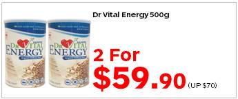 Dr Vital Energy 500g 2for5990
