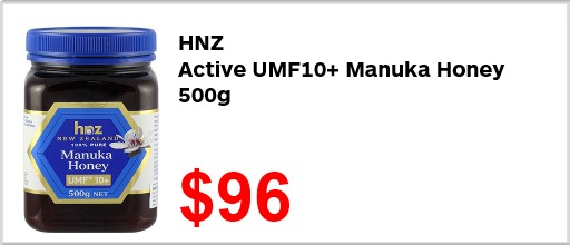 HNZ Active UMF10 Manuka Honey 500g 9600