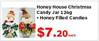 HH Honey Candy Asst Xmas Jar 124g 720