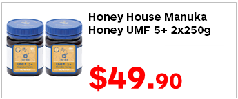 Honey House Manuka Honey UMF5 250gx2 4990
