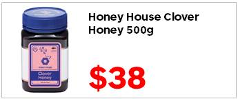 Honey House Clover 500g 3800