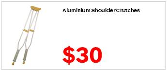 Assisted Living Aluminium Shoulder Crutch 3000