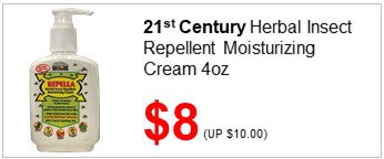 21C Herbal Mosquito Repellent Cream 4oz 8