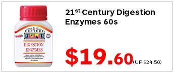 21C Digestion Enzymes 60s 1960