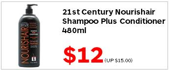 21C Nourishair Shampoo Plus Conditioner 16oz 1200