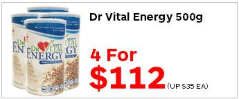 Dr Vital Energy 500g 4for112