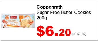 Coppenrath NSA Butter Biscuits 200g 620
