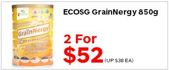 EcoSG Grainnergy 850g 2for5200
