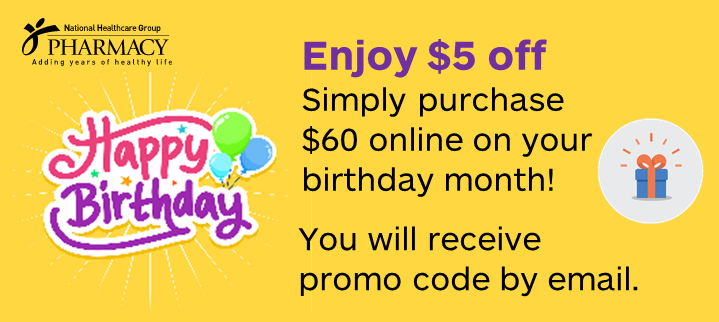 Birthday member benefits