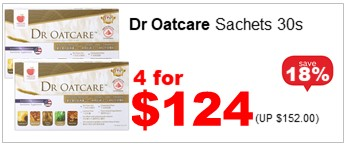 DR OATCARE 30S 4for124