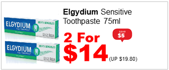 ELGYDIUM SENSITIVE 75ML 2for14