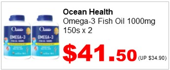 OH Omega 3 Fish Oil 1000mg 150sx2 4150