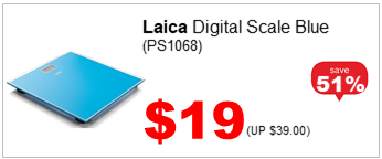 LAICA DIGITAL SCALE BLUE PS1068 1900