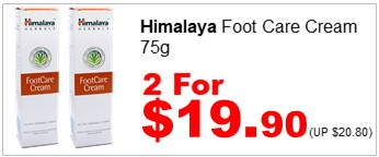 HIMALAYA FOOT CARE CREAM 75G 2for1990