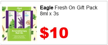 EAGLE FRESH ON GIFT PACK 8MLX3S 1000
