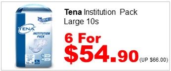 Tena Inst Pack L 10s 6for5490