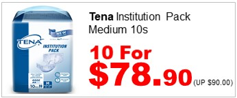 Tena Inst Pack M 10s 10for7890