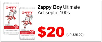 Zappy Boy Ultimate 100s 2000