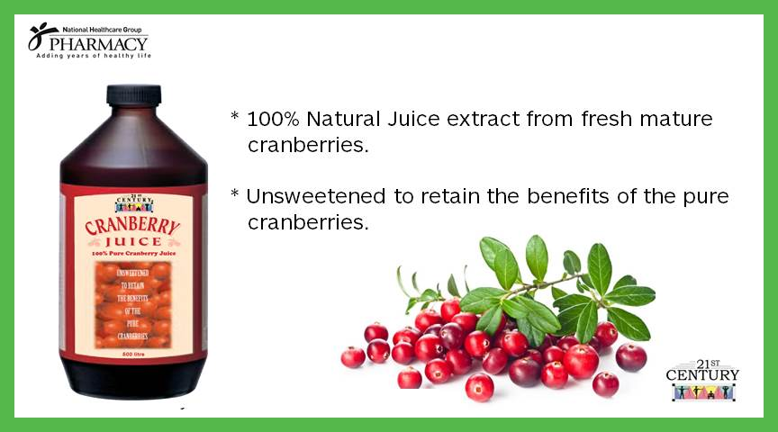 21st Century Cranberry Juice 500ml