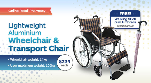 Transport Chair KY867 / Wheelchair KY868