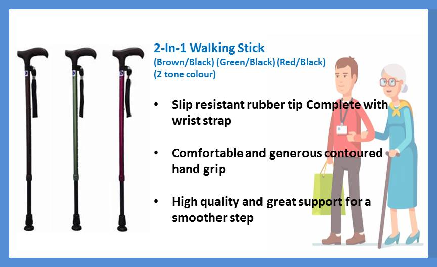 Assisted Living Walking Stick