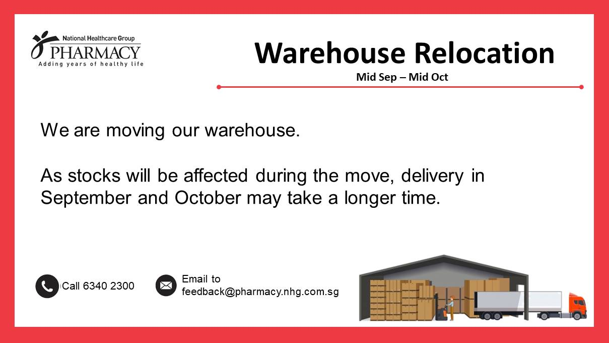 Relocating of Warehouse