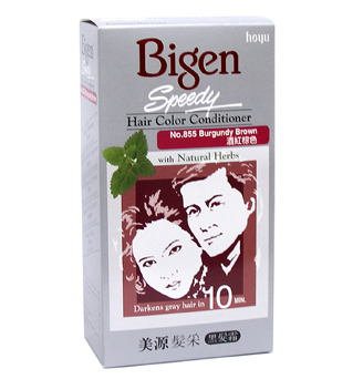 Bigen Speedy Hair Color Conditioner with Bigen Speedy Hair Color ...